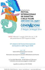 INVITO CONFERENZA STAMPA 2019